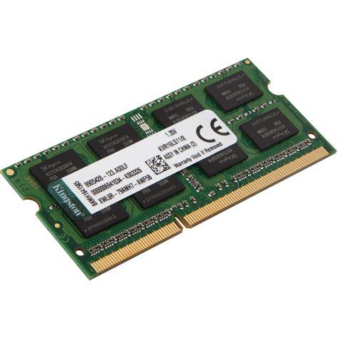 Ram Laptop 8gb Ddr3l kingston 8gb ddr3l 1600 mhz sodimm memory module kvr16ls11
