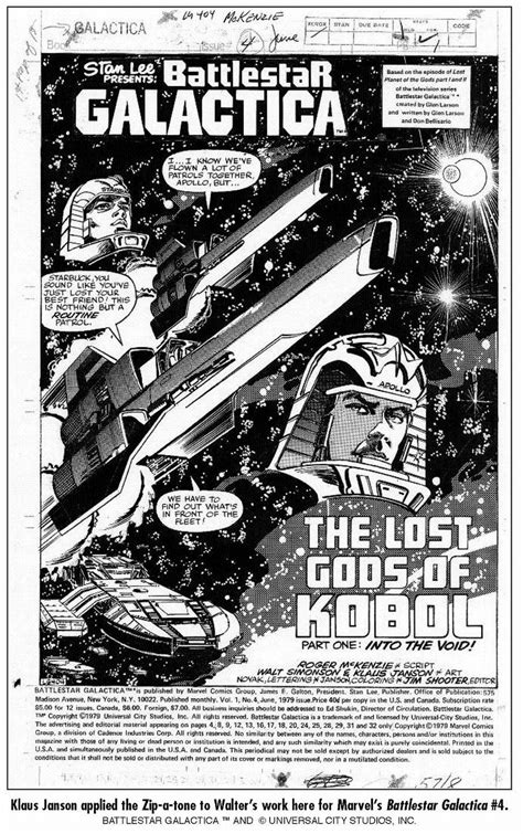 Battlestar Galactiva Marvel Series: Arte - O silêncio dos