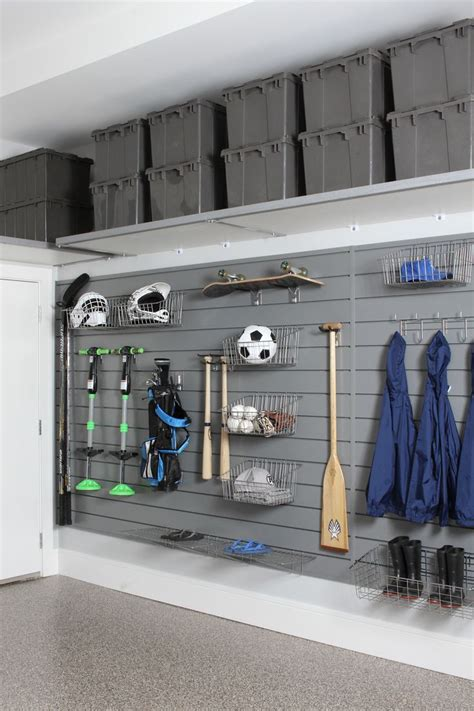 Garage Sports Storage Ideas 25 Best Ideas About Overhead Garage Storage On