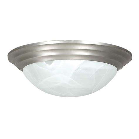 maxim lighting rondo 3 light polished nickel flush mount