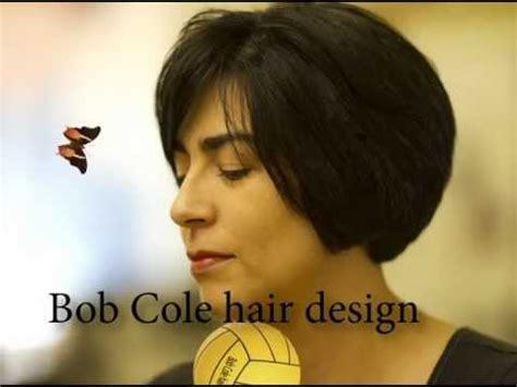 bilevel bob bi level bob hair cut youtube