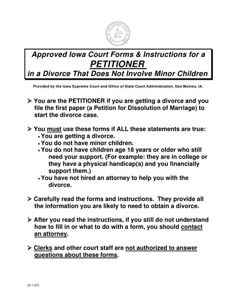 Divorce Approval Letter Approved Court Forms