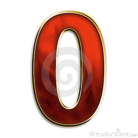 Stock Photos Of Number Zero Number Zero In Fiery Royalty Free Stock Photos Image 5021958