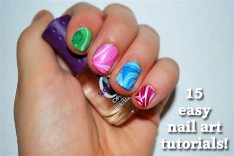 easy nail art store 15 easy nail art tutorials 187 dollar store crafts