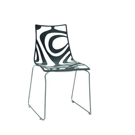 Chaise Avec Pied Central by Chaise Pied Central Top Mdf Italia Flow Chaise Pied