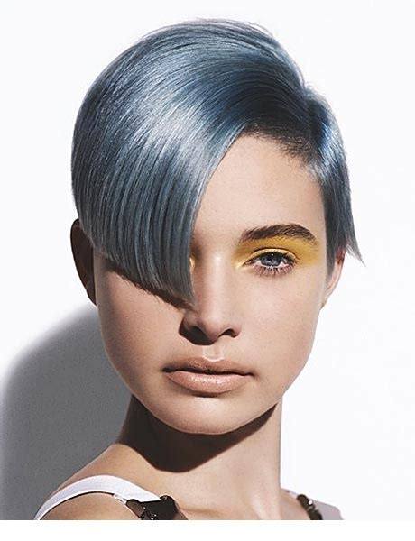 edgy gray hairstyles 40 best blue hair images on pinterest hairstyles braids