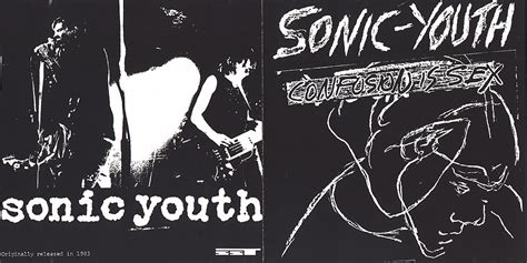 Cd Sonic Youth sonicyouth discography album confusion is