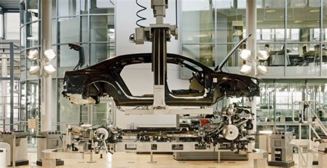 volkswagen production system vw dresden glass house factory to build e golf electric car