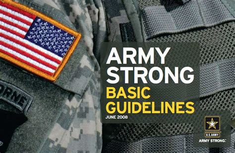 graphic design guidelines u s army graphic design guidelines