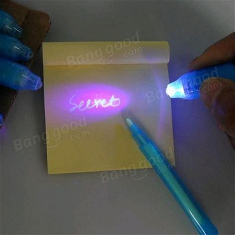 uv marker and light invisible ink pen uv marker magic light 2 in 1 pen us 1