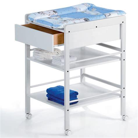 table 224 langer avec tiroir avant blanche lotta de geuther