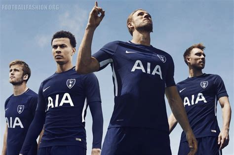 tottenham hotspur official 2017 tottenham hotspur sign with nike unveil 2017 18 home and away kits football fashion org