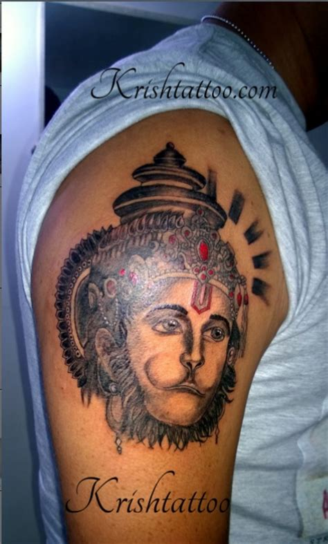 hanuman tattoo goa krish custom tattoos reputable goa studio