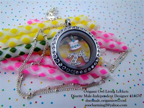 Origami Owl Birthday Locket - origami owl birthday locket pictures