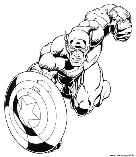 printable marvel images marvel captain america s for kids7b1d coloring pages printable