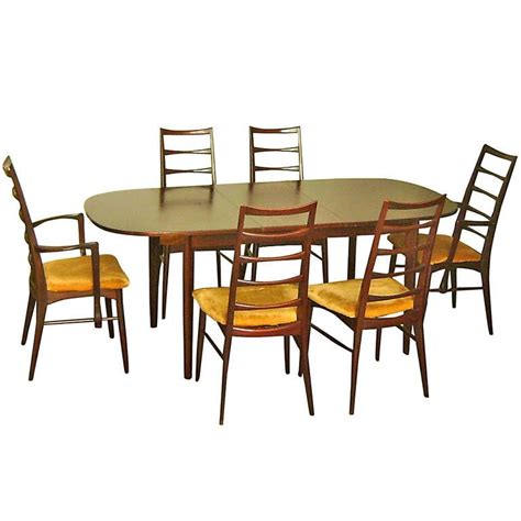 danish modern dining room set neils koefoeds for hornslet danish mid century modern