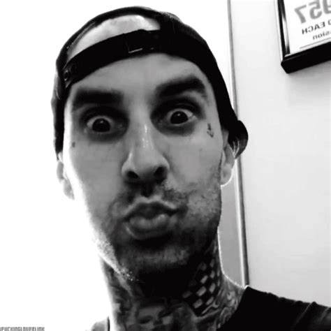 Travis Barker I Tongue Kissed Before by Tbg Gif