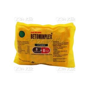 Vitamin Betominplex Apotek Paling Komplit K24klik