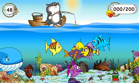 fish computer game cartoon fishing for kids android apps on google play