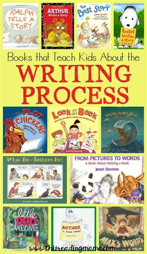 picture books about writing books that teach about the writing process