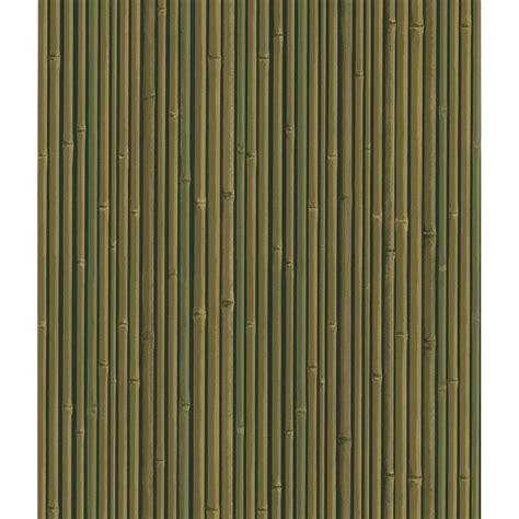 shop brewster wallcovering bamboo wallpaper at lowes