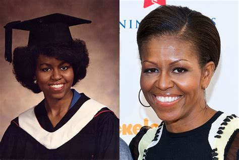 michelle obama whitney young michelle obama salutatorian graduation pose at whitney