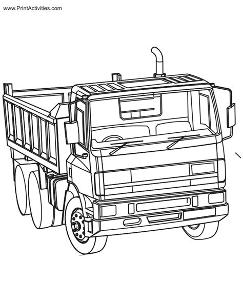 coloring pages gmc truck gmc diesel truck coloring pages coloring pages