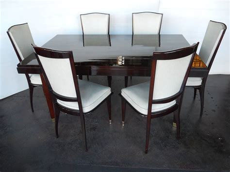 art deco dining room set elegant art deco dining room set by sviadocht freres at