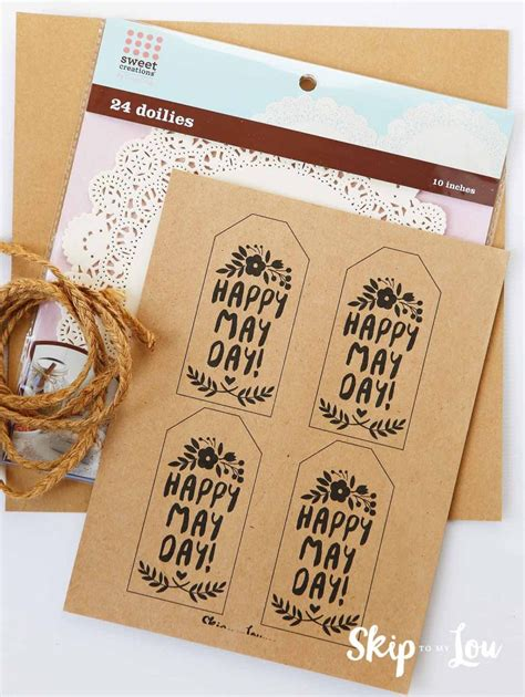 printable tags for gift baskets celebrate may day with these cute may day printable gift tags