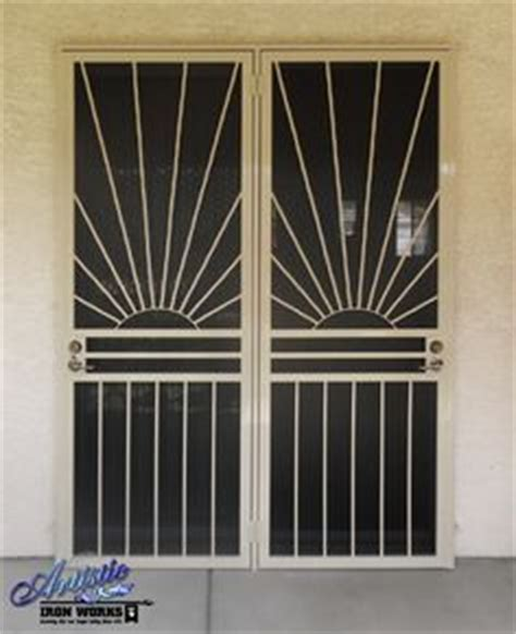 Wrought Iron Patio Doors 1000 Images About Wrought Iron Security Doors On Pinterest Security Screen Doors Security