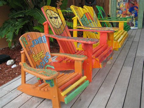 Colorful Wooden Chairs » Home Design 2017