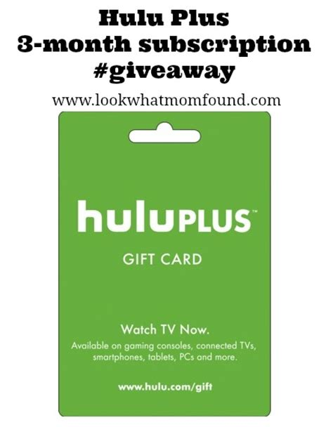 Subscription Giveaway - doozers on hulu plus 3month subscription giveaway