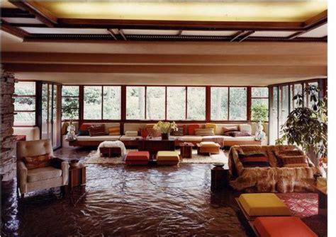 fallingwater interior cl 225 sicos de arquitectura casa en la cascada frank lloyd