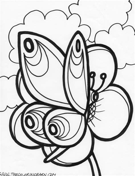 black and white coloring pages of butterflies butterfly coloring pages 2 coloring kids