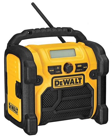 Battery Charger Kit Du Nik 01 dewalt jobsite radio 12v 18v 20v 25du78 dcr018 grainger