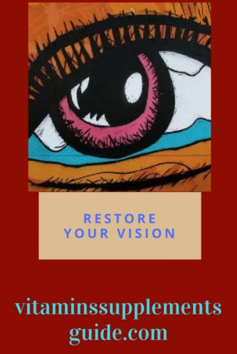 supplement eye health the best supplements for eye health your vitamins and