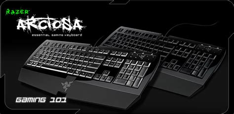 Razer Arctosa Gaming Keyboard razer arctosa gaming keyboard