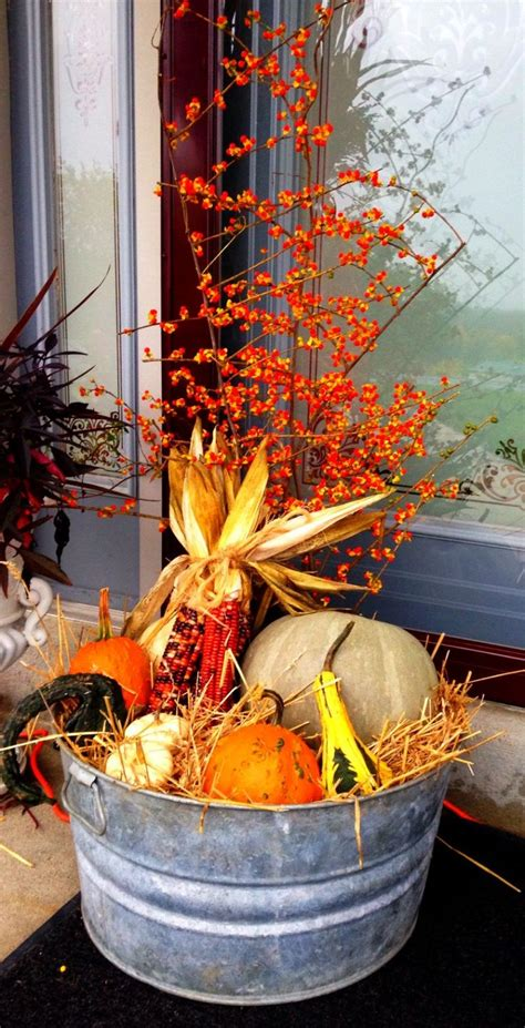 fall outdoor decorations best 25 autumn decorations ideas on fall