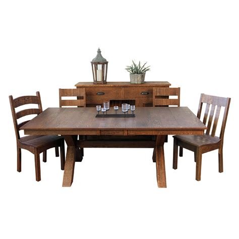 dining room table base dining room tables resawn x base collection furniture