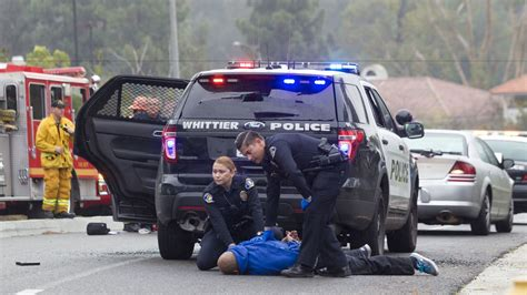 cop shoots gunman who killed whittier officer had fatally cousin hours earlier say