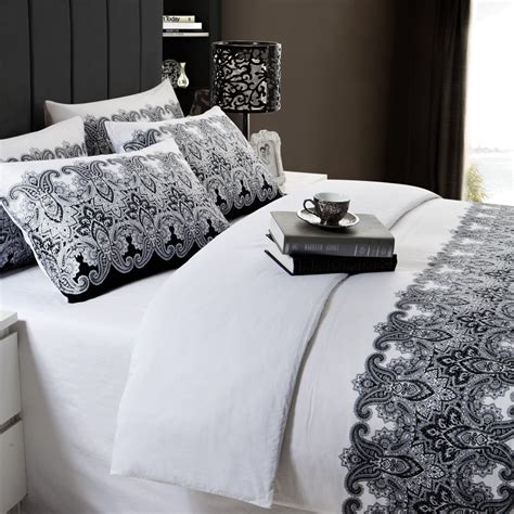 Duvet Sets Black And White Black And White Bedding Sets Home Furniture Design