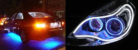 car with lights lto warns car owners with led lights and other car