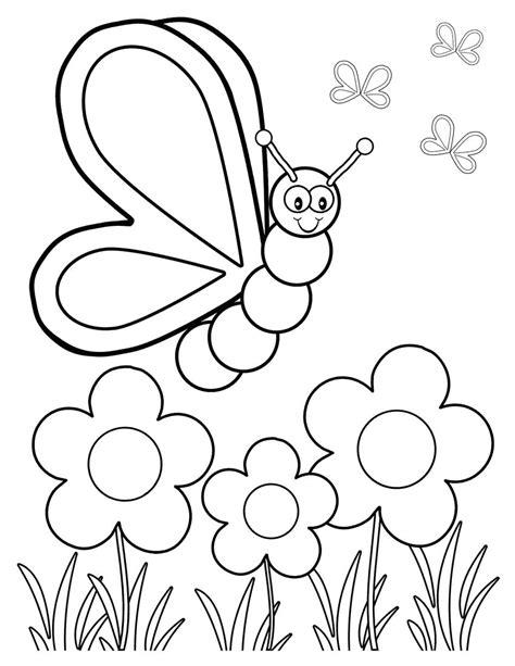 dibujos infantiles org dibujos de mariposas para colorear para ni 241 os