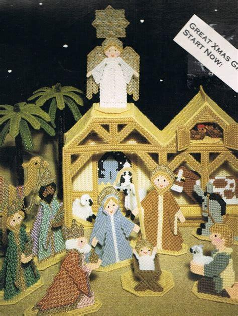 patterns for christmas nativity christmas nativity scene plastic canvas pattern meylah