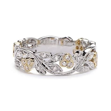 17 best ideas about vine wedding ring on