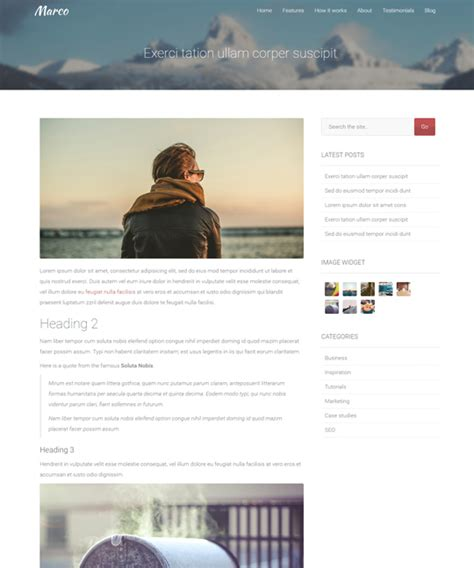 single post page template template update marco v2 3 with templates azmind