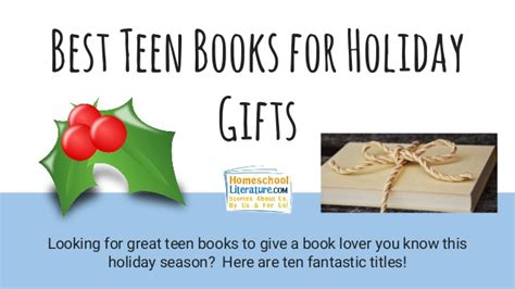 best teen books for holiday gifts