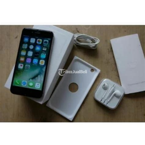 Hp Apple Iphone 6 16gb handphone apple iphone 6 16gb intern fu second harga murah mulus jakarta dijual tribun