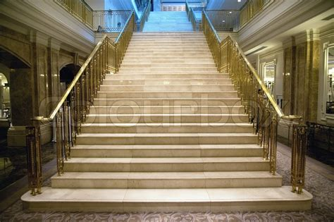 luxury staircase  palace stock photo colourbox