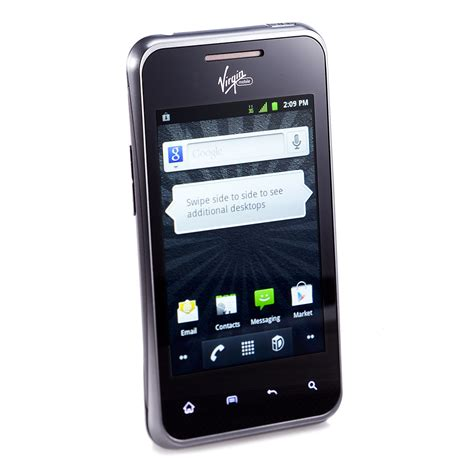 irgin mobile pcd chaser 3g android phone for mobile black